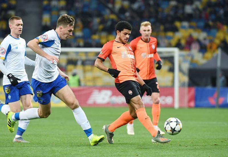 Шахтер обыграл Динамо в главном футбольном дерби Украины