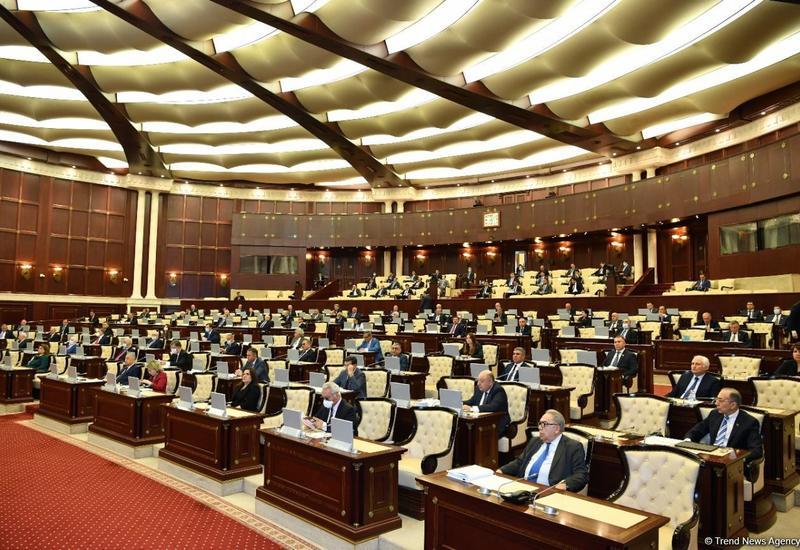 Названа дата проведения первого пленарного заседания внеочередной сессии Милли Меджлиса