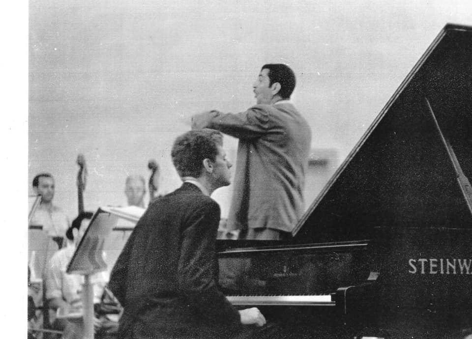 Опубликованы редкие фотографии маэстро Ниязи и американского пианиста Вана Клайберна