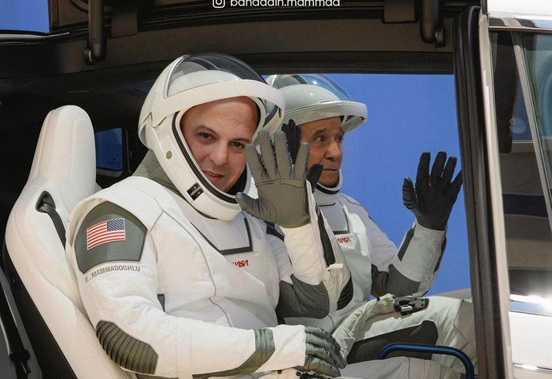 Бахаддин Мамедли отправил в космос Элариза и Ниямеддина Мусаева