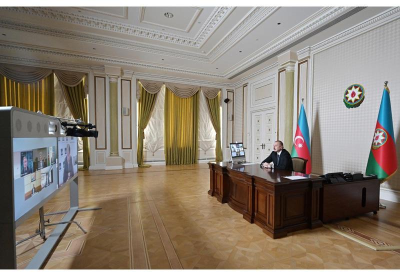 Президент Ильхам Алиев: Благодаря своевременно принятым Азербайджаном мерам наши потери минимальны