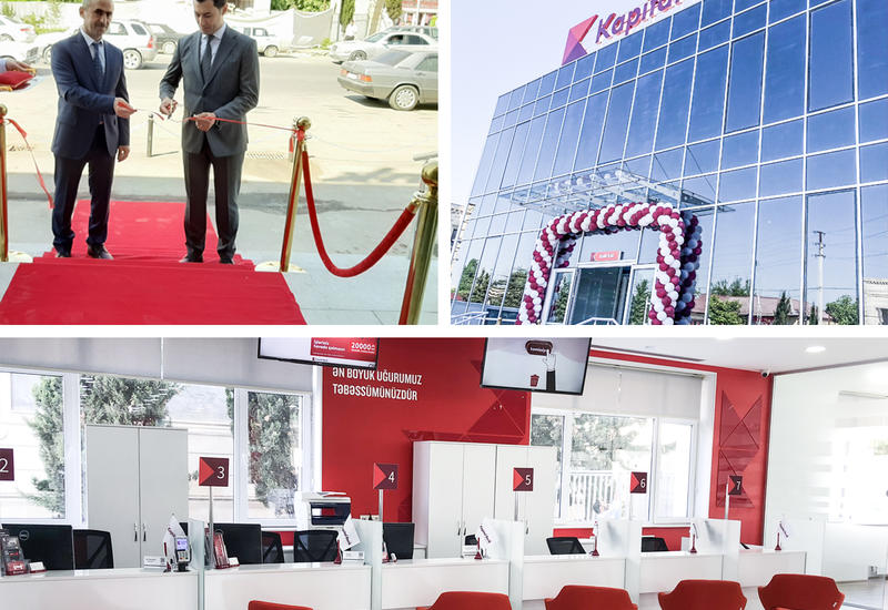 Kapital Bank представил обновленный филиал в Агдаме (R)