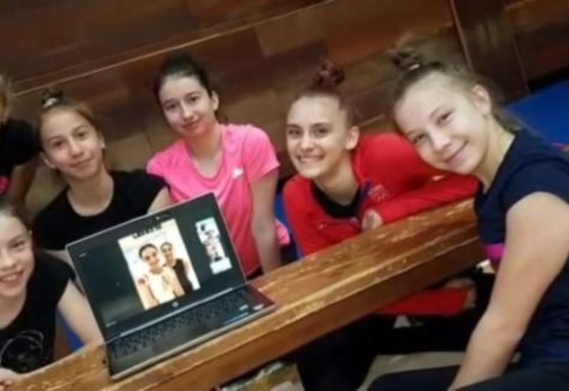 Азербайджанские гимнастки провели мастер-классы для зарубежных соперниц