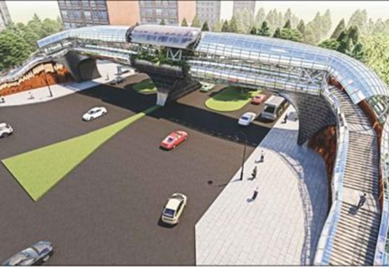 В одном из районов Баку откроется новый надземный пешеходный переход