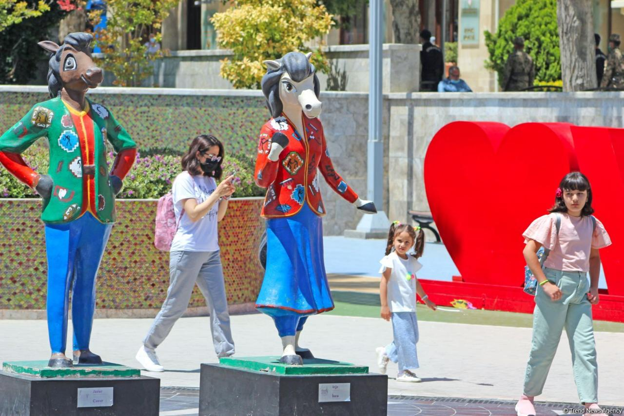 В Азербайджане отмечается международный день защиты детей