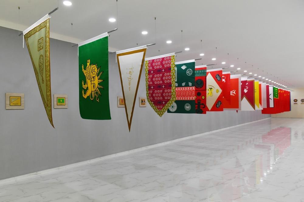 Президент Ильхам Алиев принял участие в открытии в Тертере Музея государственной символики