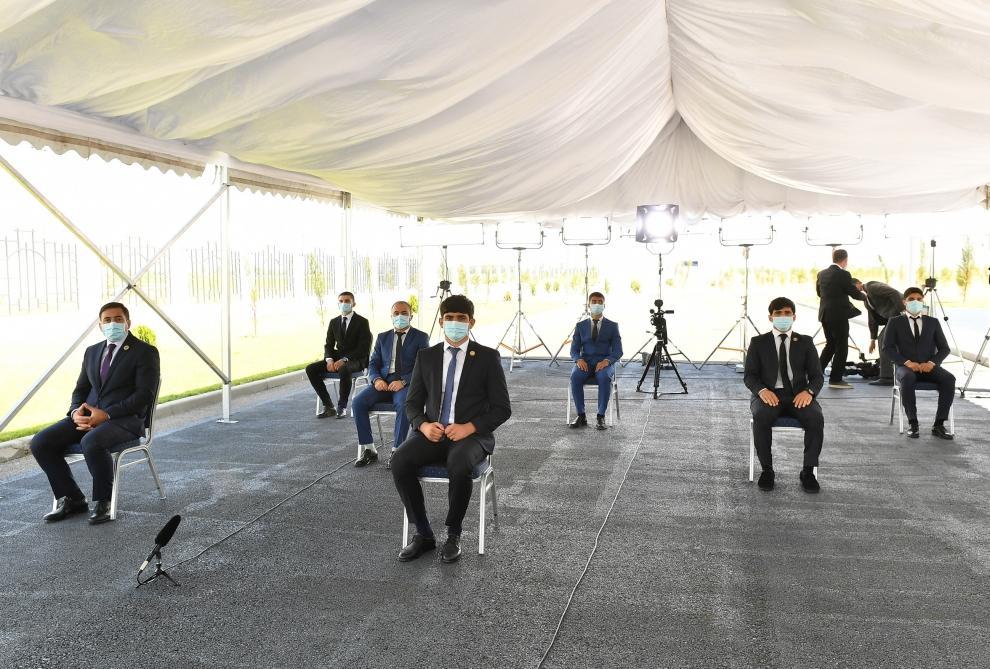 Состоялось открытие Тертерского олимпийского спортивного комплекса
