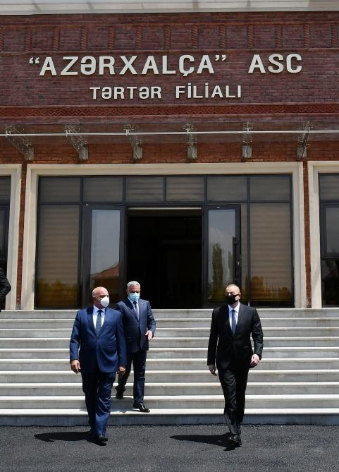 Открылся Тертерский филиал ОАО «Азерхалча»