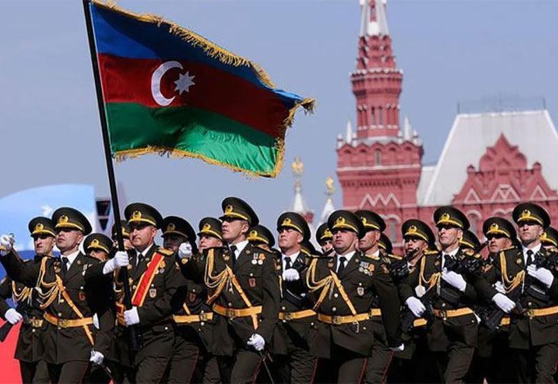 Азербайджанские военнослужащие примут участие в военном параде в Москве
