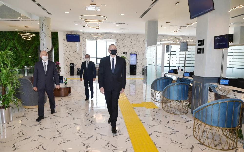 В Агджабеди открылся комплекс ASAN Həyat