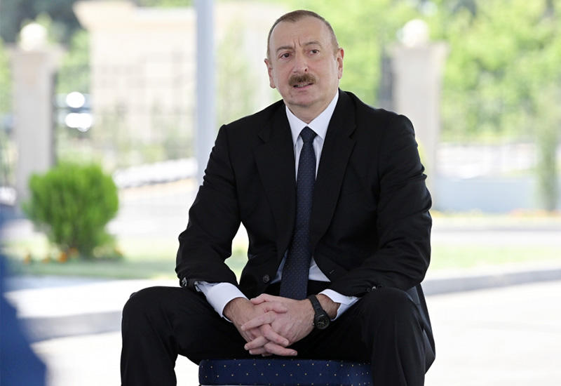 Президент Ильхам Алиев: Развитие спорта – это здоровье народа, и азербайджанский народ должен быть здоровым