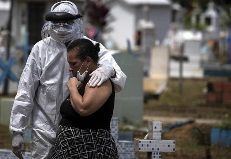 В Бразилии за сутки подтвердилось рекордное число смертей от COVID-19