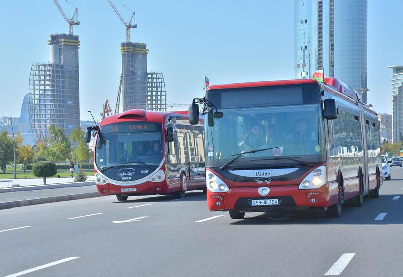 В автобусах в Баку заработали кондиционеры