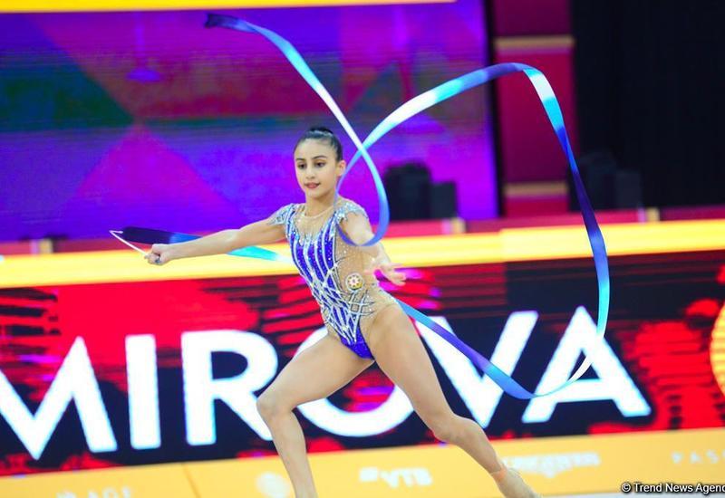 В 2021 году в Баку пройдет Кубок мира по художественной гимнастике