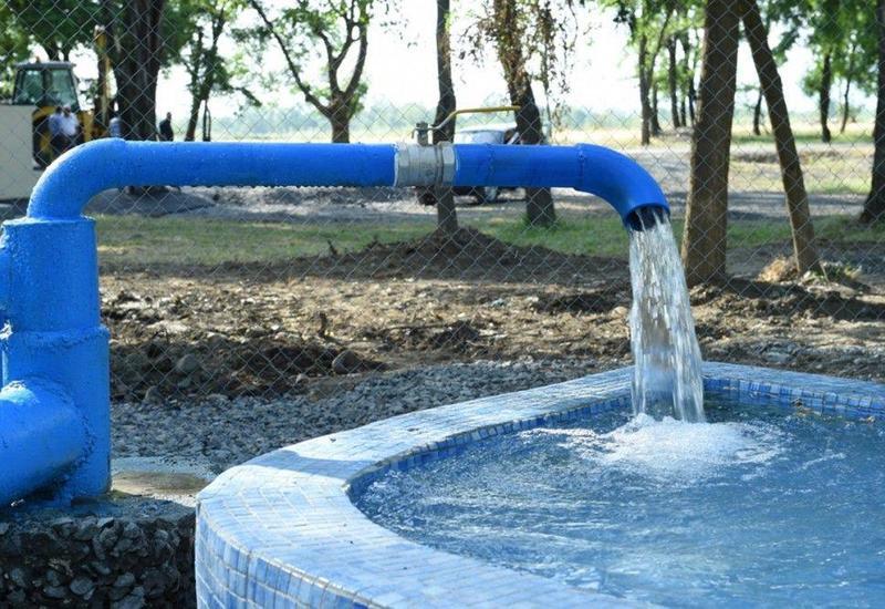 В Нефтчале проводятся работы по восстановлению водоснабжения