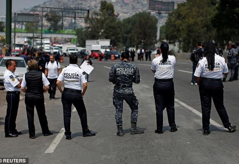 Власти задержали 26 участников беспорядков в Мексике