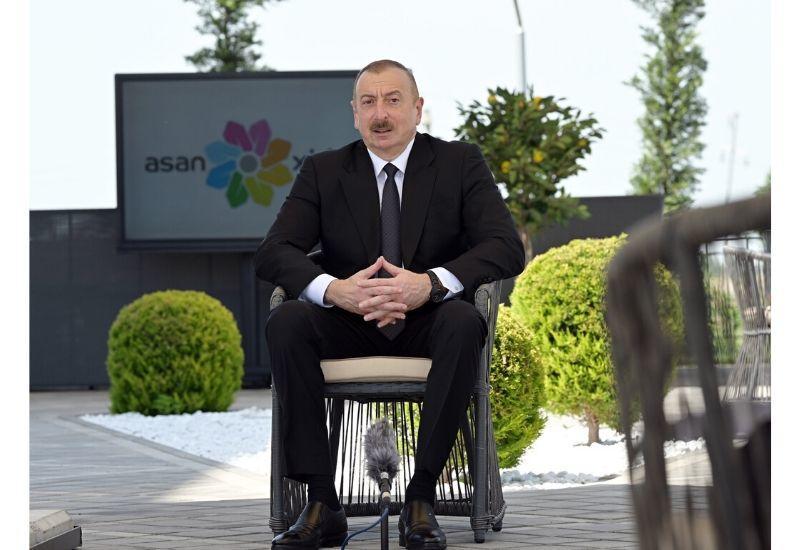 Президент Ильхам Алиев: Сегодняшние волонтеры – это завтрашние руководители
