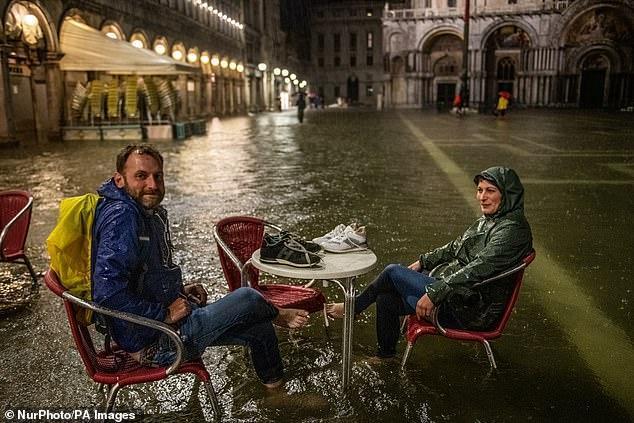 В Венеции произошло аномальное наводнение