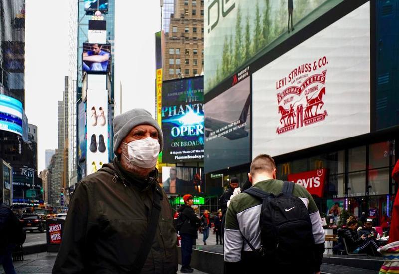 В Нью-Йорке от коронавируса скончалось рекордно низкое число человек