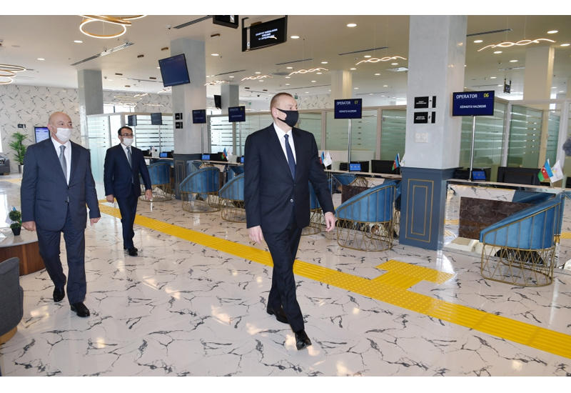 Президент Ильхам Алиев подал пример всему Азербайджану