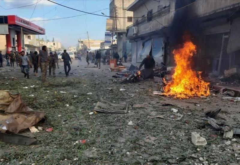 Теракт у здания больницы в Сирии