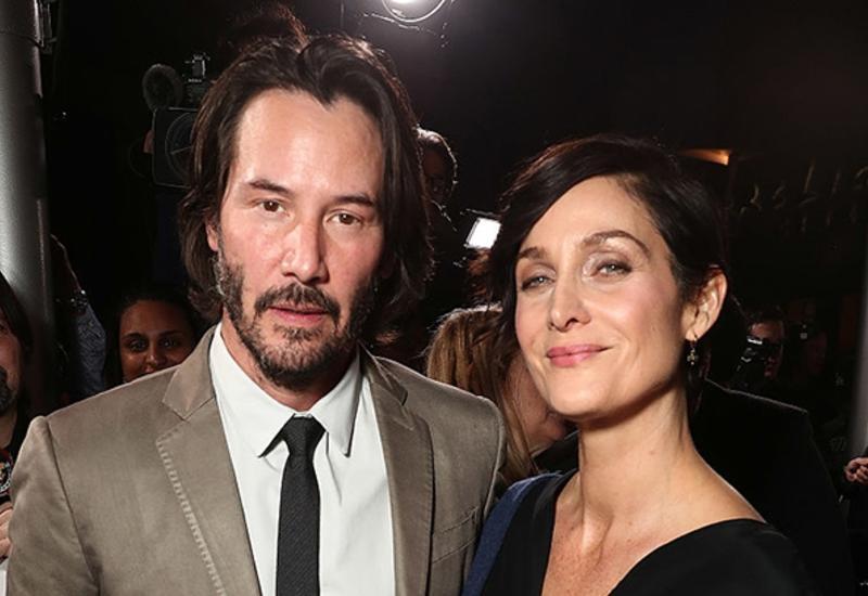 Киану Ривз и Кэрри-Энн Мосс похвалили сценарий новой «Матрицы»