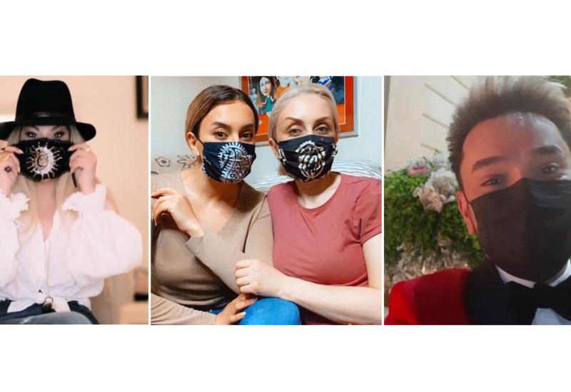 Азербайджанские звезды в масках: Защищен - значит вооружен!