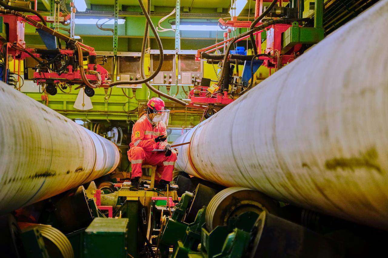 Завершено строительство морской части газопровода TAP