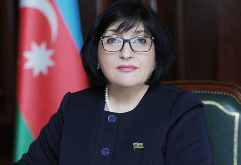 Сахиба Гафарова поздравила женщин с 8 Марта