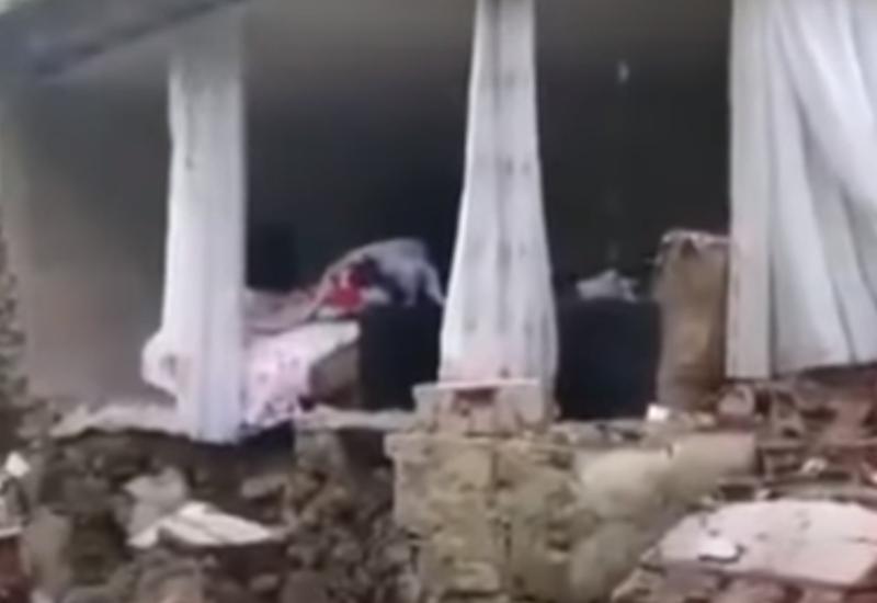 Жуткие кадры землетрясения в Турции