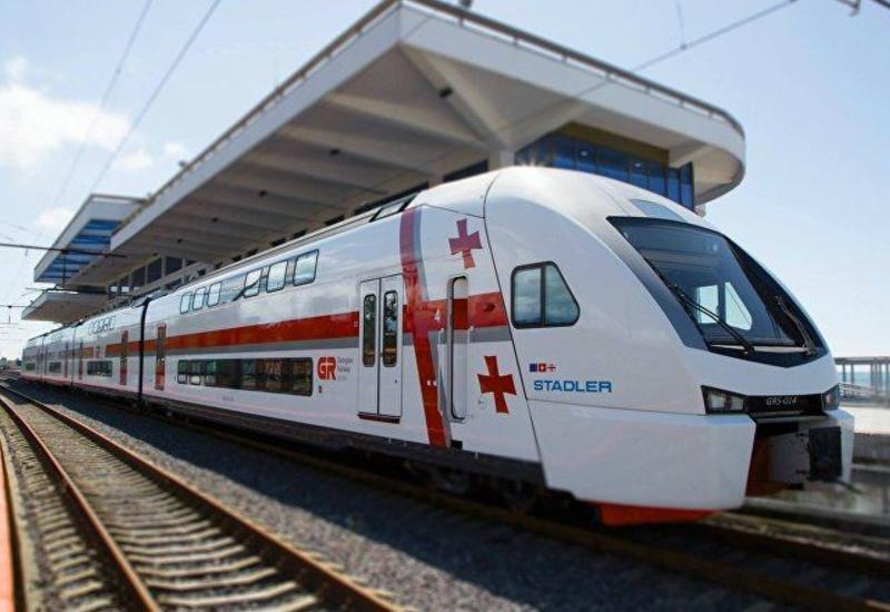 В Грузии распроданы все билеты в день восстановления движения поездов
