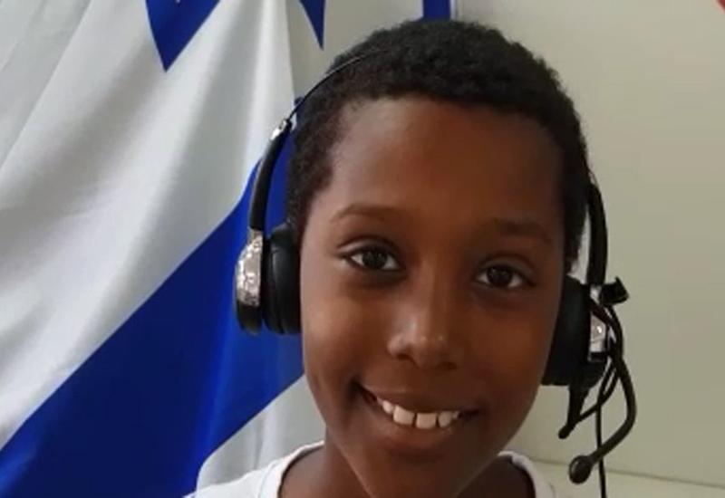 Мальчик из Эфиопии великолепно исполнил песню Рашида Бейбутова о Баку