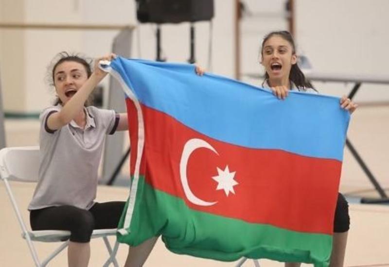 Гимнастки Азербайджана и Израиля провели онлайн-соревнование