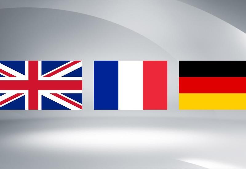 ФРГ, Британия и Франция будут добиваться проведения министерской встречи с участием Ирана