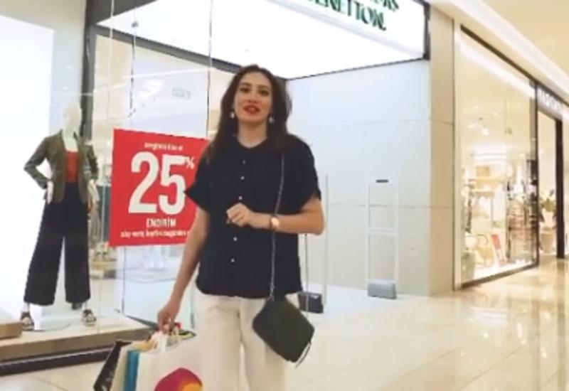 Лала Эфенди посетила Dəniz Mall, где отметила соблюдение всех правил карантина