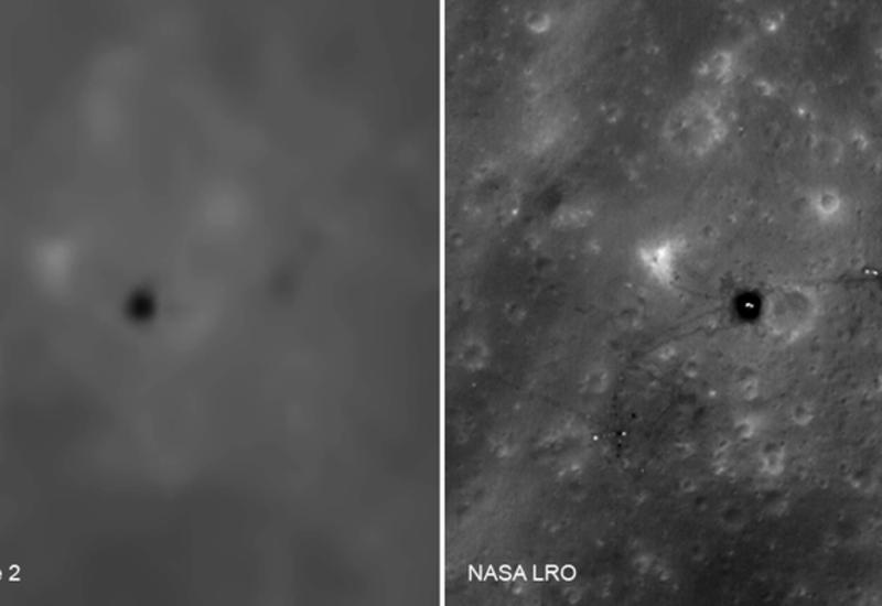 Впервые опубликованы китайские снимки мест посадок «Аполлонов» на Луне