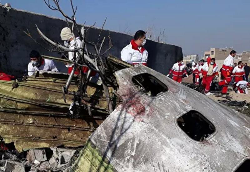 Иран отправит во Францию черные ящики со сбитого украинского самолета