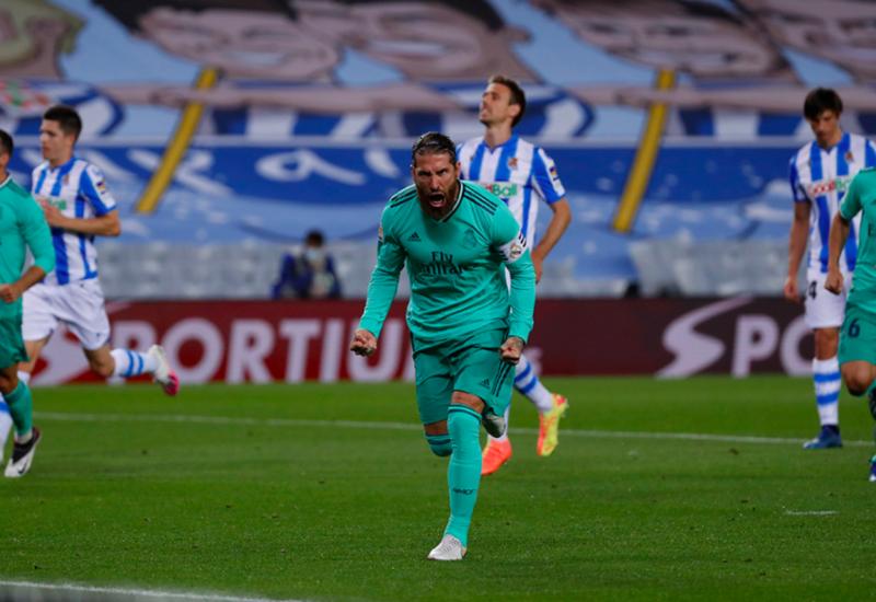 Рамос повторил собственный рекорд по числу голов в Ла Лиге за сезон