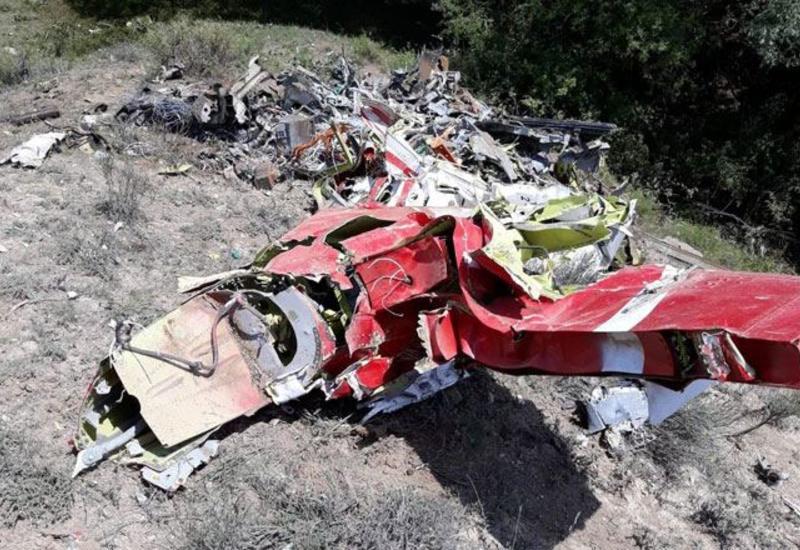 В Турции разбился учебный самолет