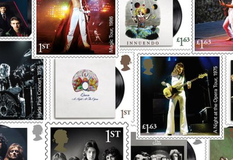 В Великобритании выпустят 13 марок, посвященных рок-группе Queen