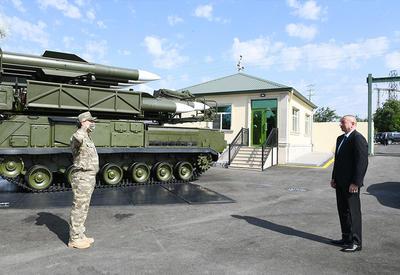 Президент Ильхам Алиев принял участие в открытии N-ской воинской части Министерства обороны - ФОТО - ВИДЕО