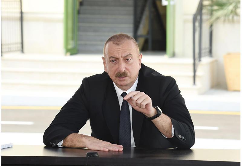 Президент Ильхам Алиев: Сегодня Азербайджан в мировом масштабе является страной, которая полагается на собственные силы и ни от кого не зависит