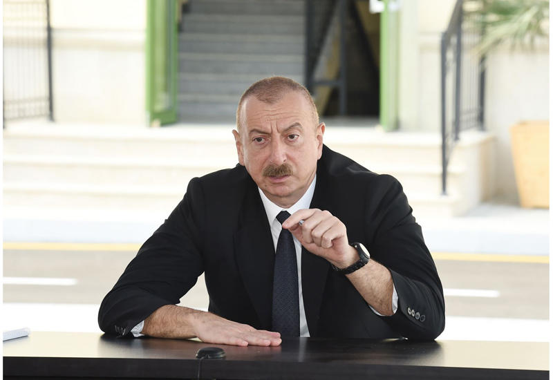 Президент Ильхам Алиев: Если бы Гейдар Алиев не пришел к власти, еще неизвестно, докуда могла дойти Армения