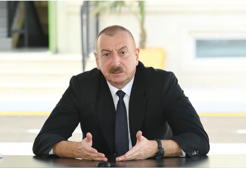 Президент Ильхам Алиев: Необходимо предпринять дополнительные шаги, направленные на повышение боеспособности, чтобы мы в любой момент были готовы к восстановлению территориальной целостности