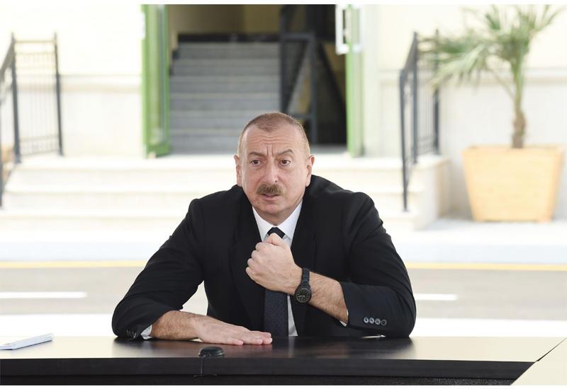 Президент Ильхам Алиев: История независимости Армении – в принципе позорная история