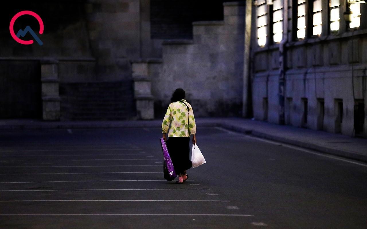 Вечерний Баку во время специального карантинного режима
