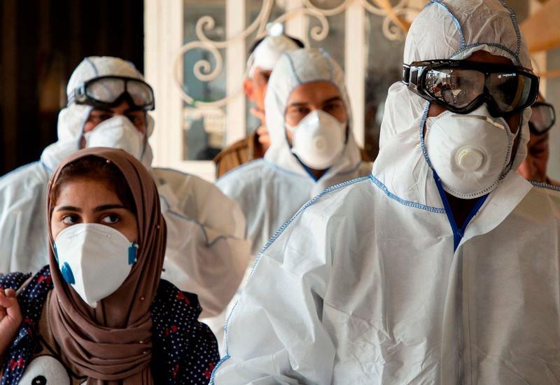В Иране за сутки выявили 2628 новых случаев заражения коронавирусом