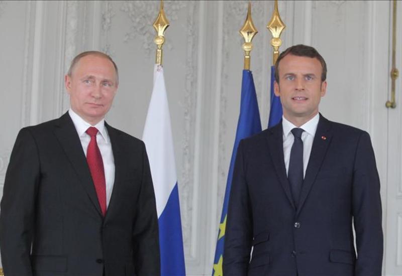 Путин и Макрон обсудили глобальные вызовы