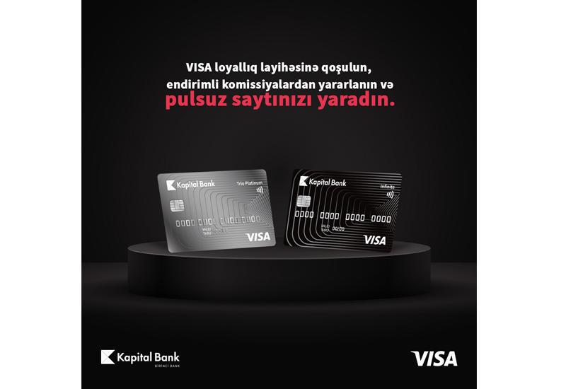 Kapital Bank предлагает особые возможности партнерам, дающим скидки по картам Visa (R)