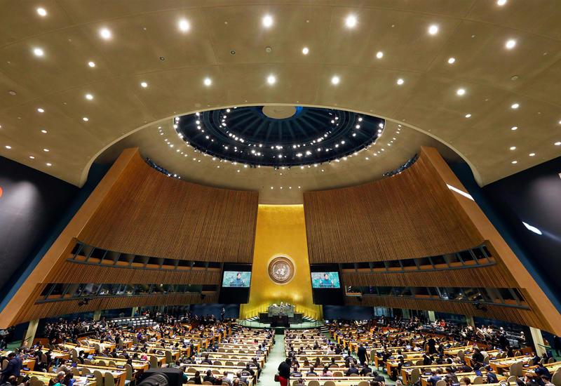 Международное сообщество высоко оценило инициативу Президента Ильхама Алиева о созыве спецсессии Генеральной Ассамблеи ООН